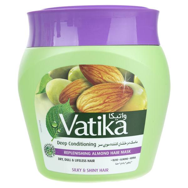 ماسک مو واتیکا مدل Replenishing Almond حجم 500 میلی لیتر