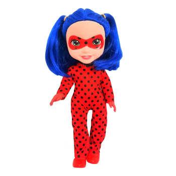 عروسک مدل دختر کفشدوزکی کد 56230 ارتفاع 25 سانتی متر