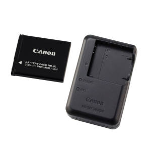 شارژر باتری دوربین کانن مدل 2LAE به همراه باتری