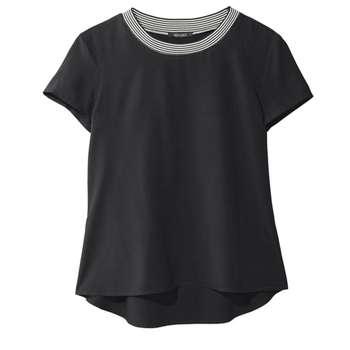 تی شرت آستین کوتاه زنانه اسمارا مدل S1016