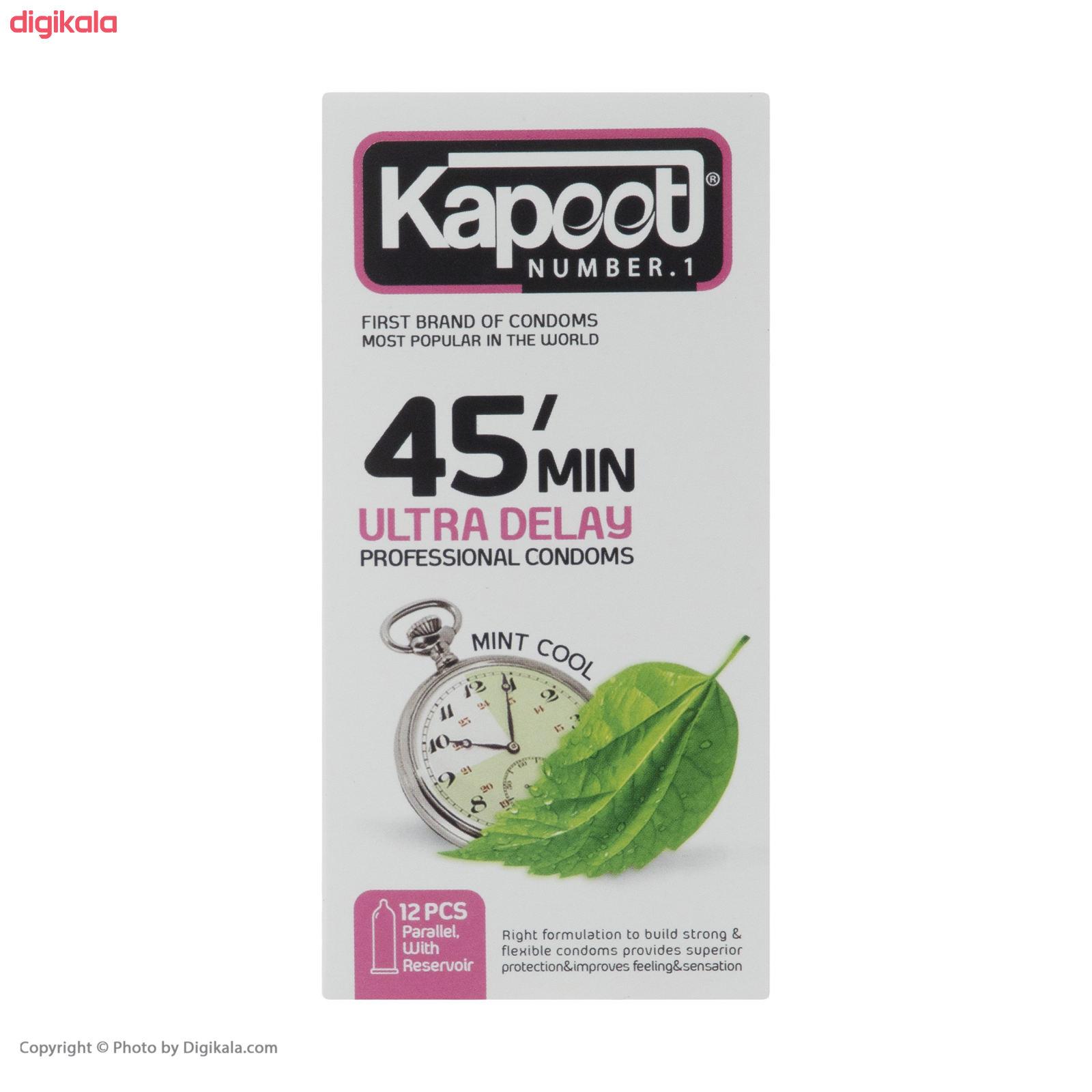 کاندوم کاپوت مدل 45 Minutes بسته 12 عددی main 1 3