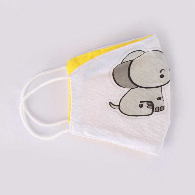ماسک تزیینی صورت بچه گانه طرح فیل کد 617011