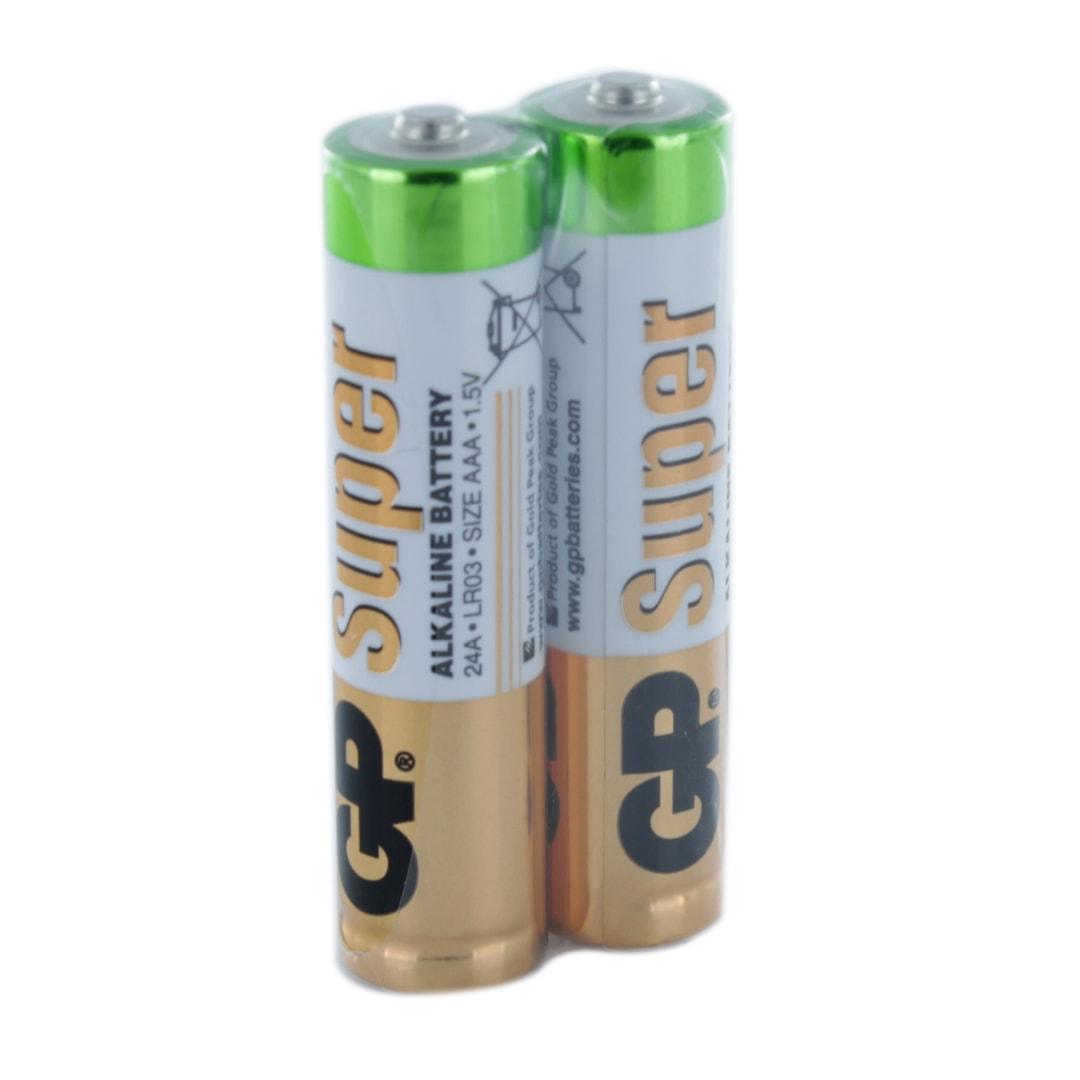 بررسی و {خرید با تخفیف}                                     باتری نیم قلم جی پی مدل Super بسته 2 عددی                             اصل