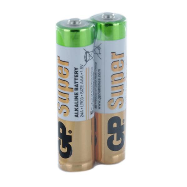 باتری نیم قلم جی پی مدل Super بسته 2 عددی