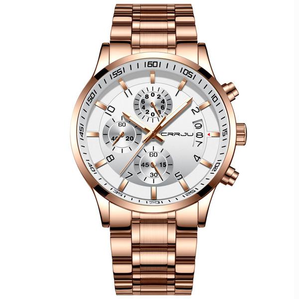 ساعت مچی عقربهای مردانه سی آر آر جی یو مدل rose2214a