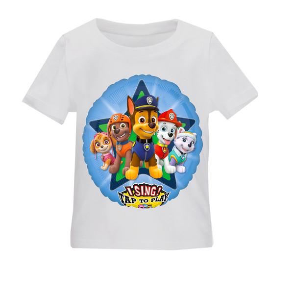 تی شرت بچگانه طرح سگهای نگهبان کد TSb160