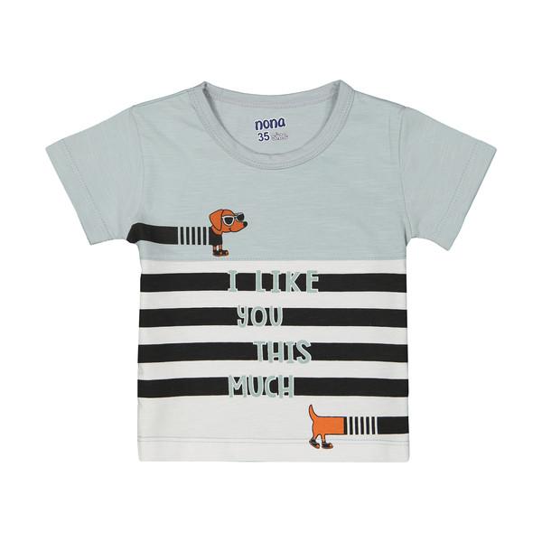 تی شرت پسرانه نونا مدل 2211117-90