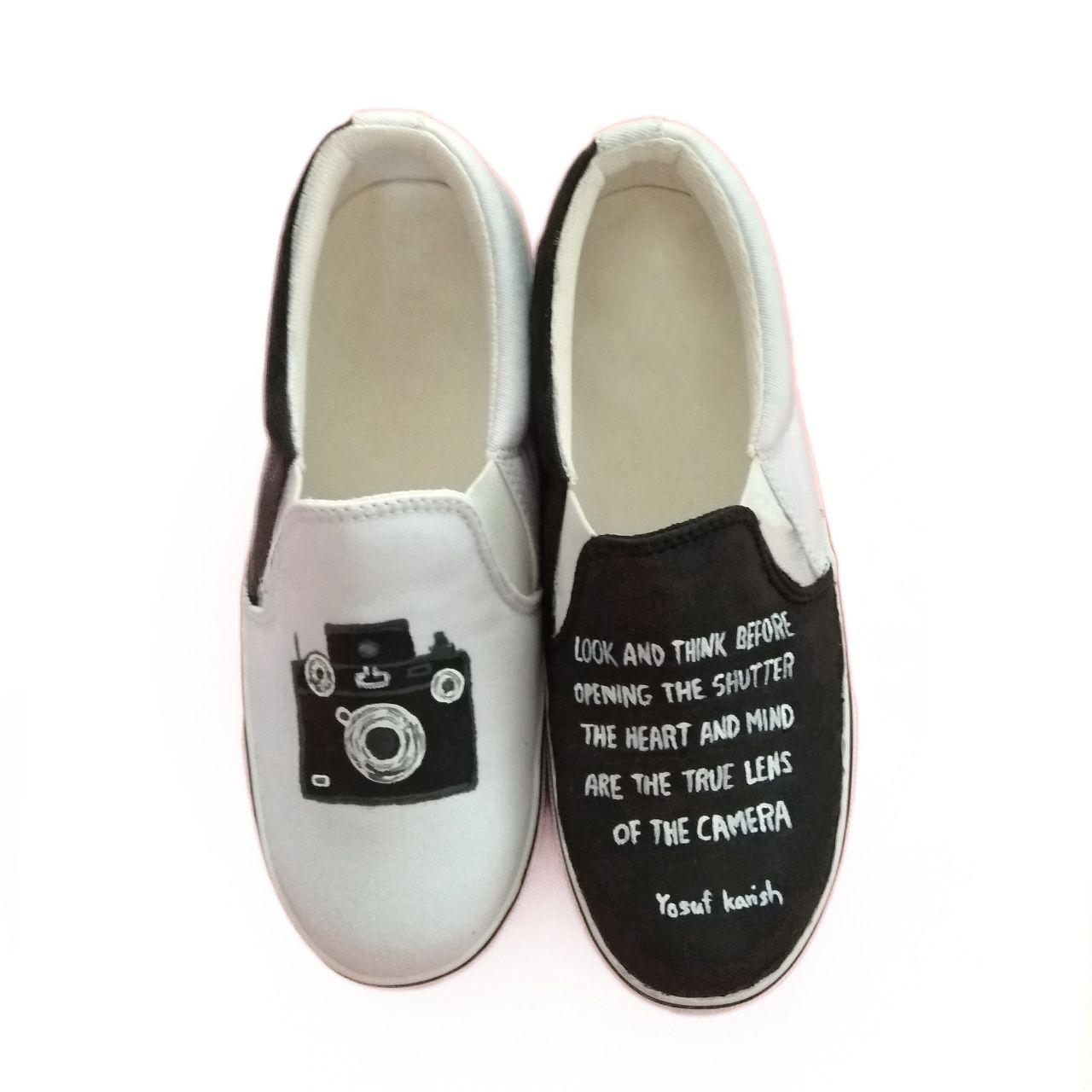 کفش روزمره زنانه دالاوین طرح دوربین کد V-2 -  - 3