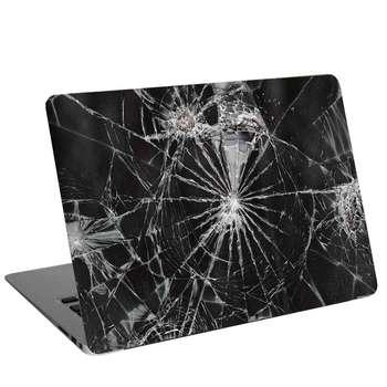 استیکر لپ تاپ طرح broken screen کد cl-444مناسب برای لپ تاپ 15.6 اینچ