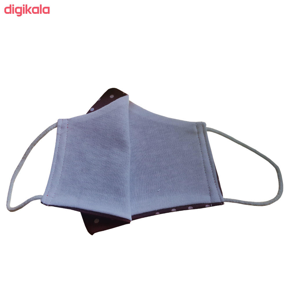 ماسک تزیینی طرح خالدار کد MB002 main 1 5
