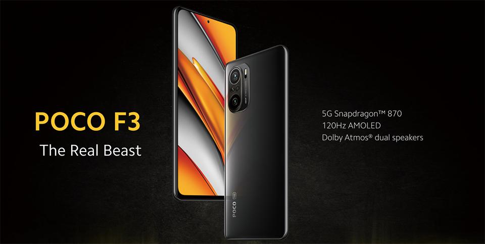 گوشی شیائومی مدل POCO F3 5G ظرفیت 256 گیگابایت و 8 گیگابایت رم