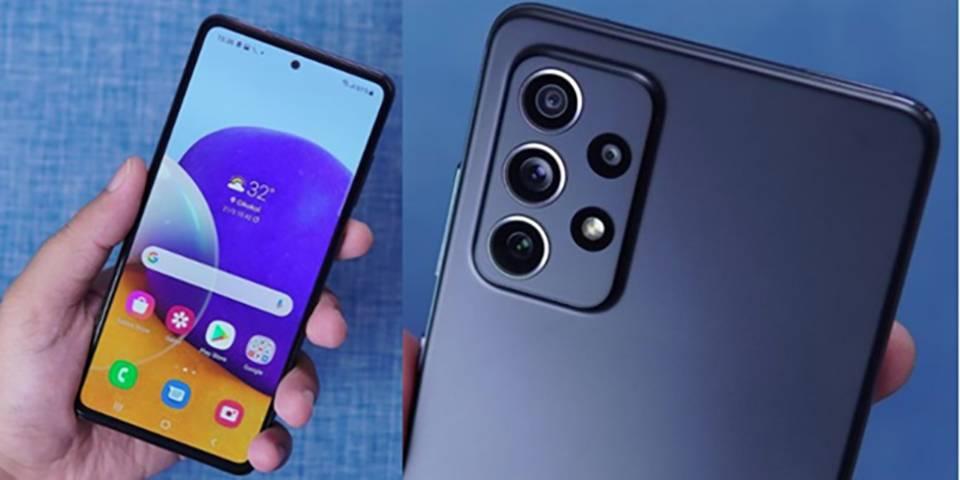 گوشی موبايل سامسونگ مدل گلکسی A72 ظرفیت 256 گیگابایت - رم 8 گیگابایت