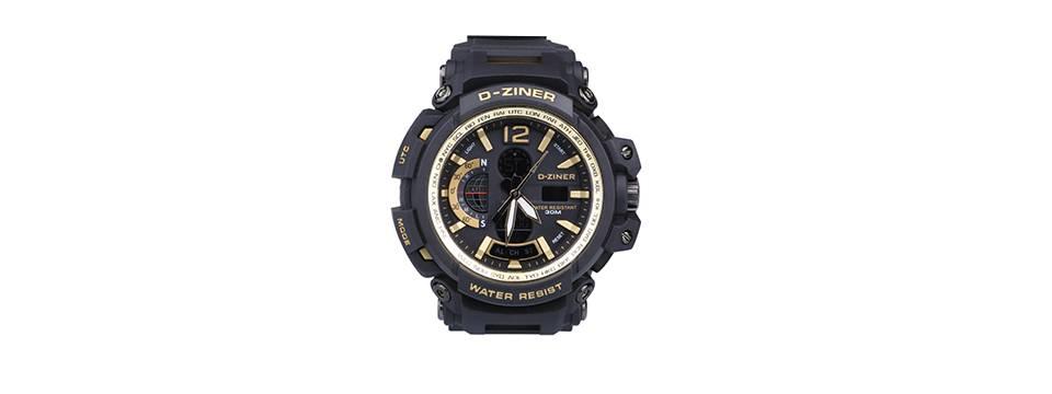 ساعت مچی عقربه ای مردانه دیزاینر مدل D-Z7004 2