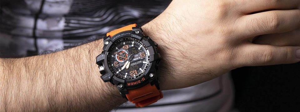 ساعت مچی عقربه ای مردانه دیزاینر مدل D-Z7006 3