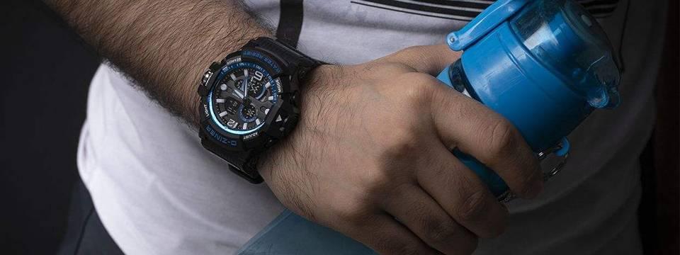 ساعت مچی عقربه ای مردانه دیزاینر مدل D-Z7056 3