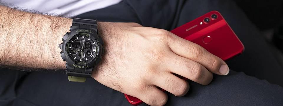 ساعت مچی عقربه ای مردانه دیزاینر مدل D-Z7058 3