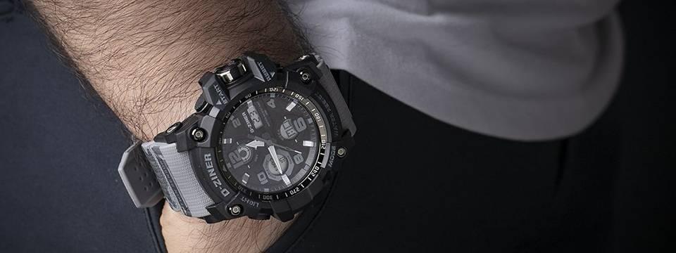 ساعت مچی عقربه ای مردانه دیزاینر مدل D-Z7007 3