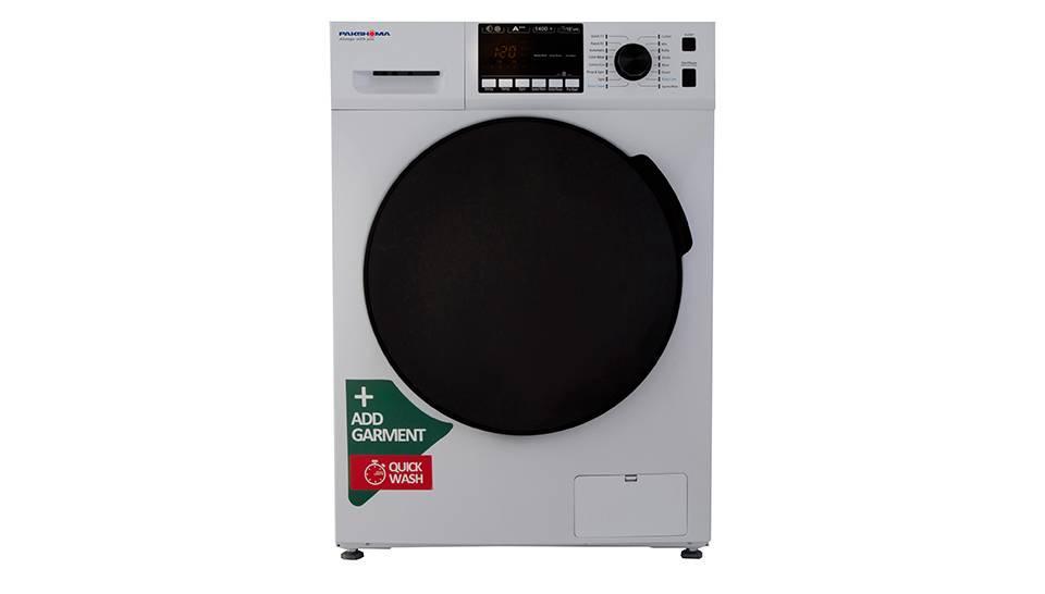 ماشین لباسشویی ۷ کیلویی پاکشوما سفید درب کروم مدل TFU-73401WT