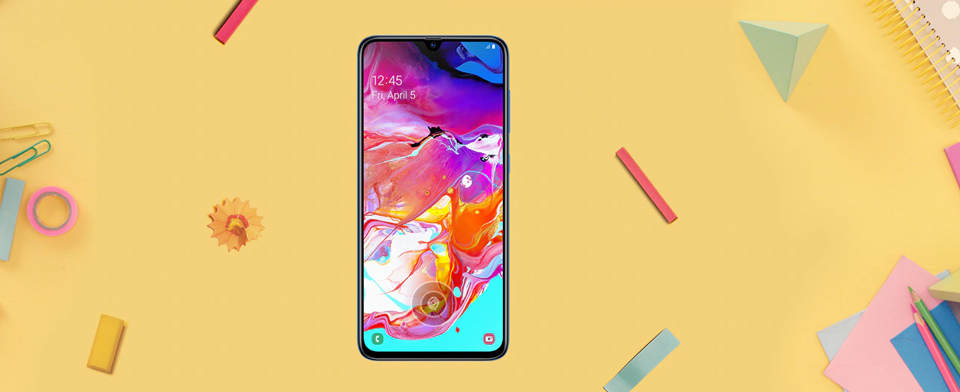 گوشی موبایل سامسونگ Samsung Galaxy A70 -6/128GB