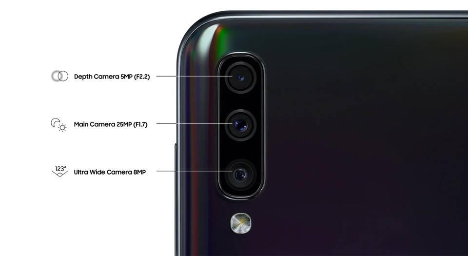 گوشی موبایل سامسونگ Samsung Galaxy A50-4/128GB