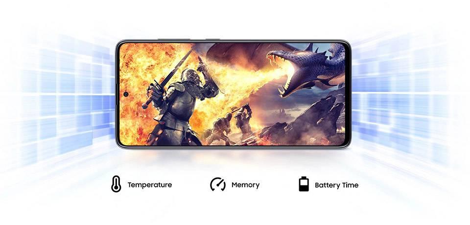 گوشی موبایل سامسونگ مدل Galaxy A51 SM-A515F/DSN دو سیم کارت ظرفیت ۱۲۸گیگابایت