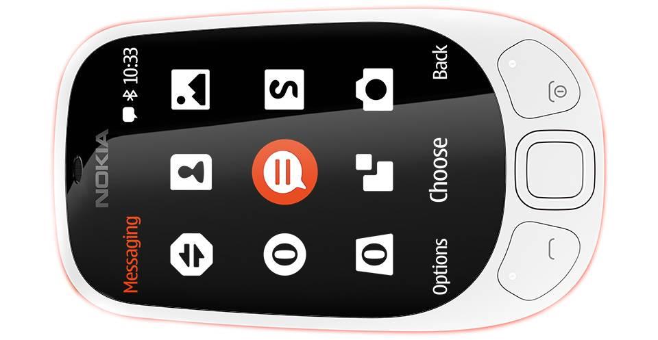 گوشی موبایل نوکیا Nokia 3310 (2017) Dual SIM-16GB