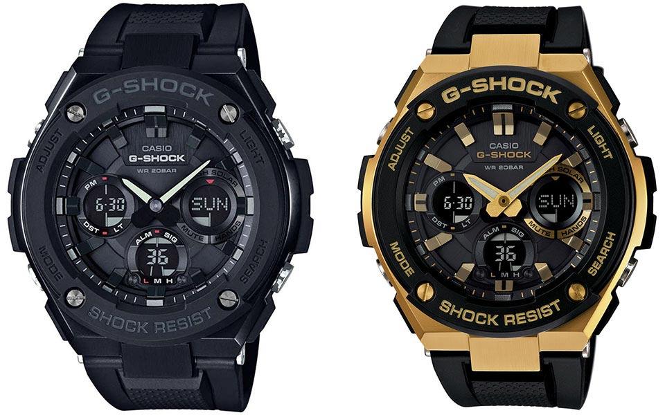 خرید ساعت مچی عقربه ای مردانه کاسیو مدل GST-S100G-1B