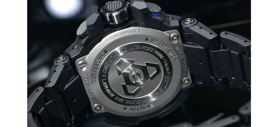 خرید ساعت مچی عقربه ای مردانه کاسیو جی شاک مدل GW-A1100FC-1ADR