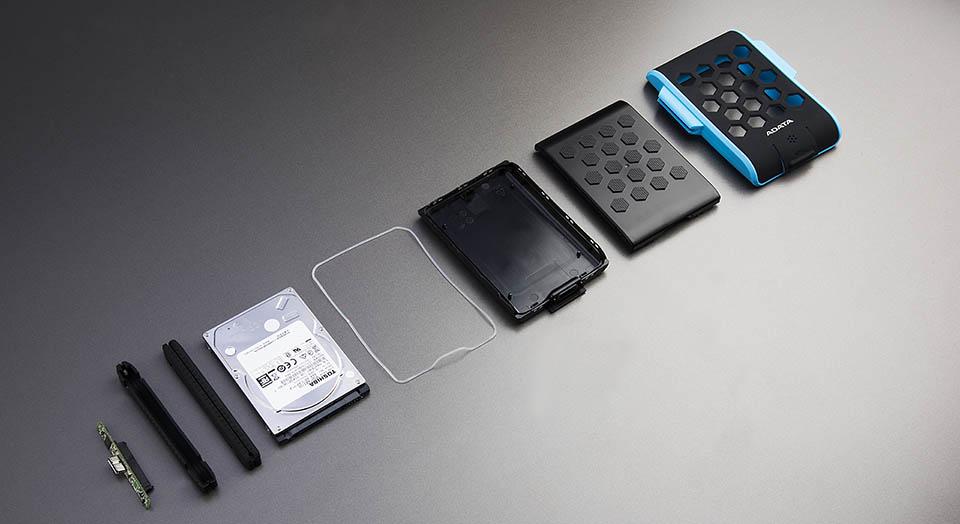 هارد اکسترنال ای دیتا مدل HD720 ظرفیت 2 ترابایت فروشگاه اینترنتی آی تی اس کالا