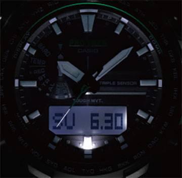 ساعت مچی عقربه ای مردانه کاسیو پرو ترک مدل PRW-6100Y-1BDR
