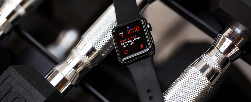 ساعت هوشمند اپل واچ 3 مدل 42mm Space Gray Aluminum Case with Black Sport Band