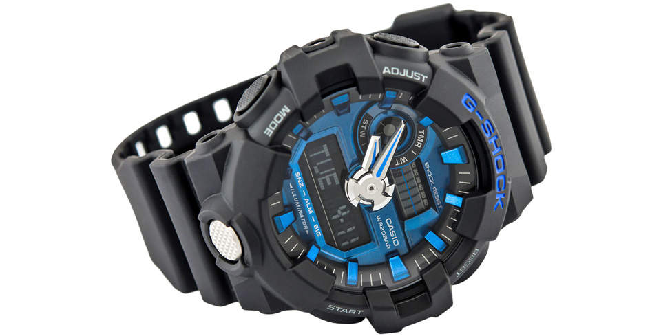ساعت مچی عقربه ای مردانه کاسیو جی شاک مدل GA-710-1A2DR 3