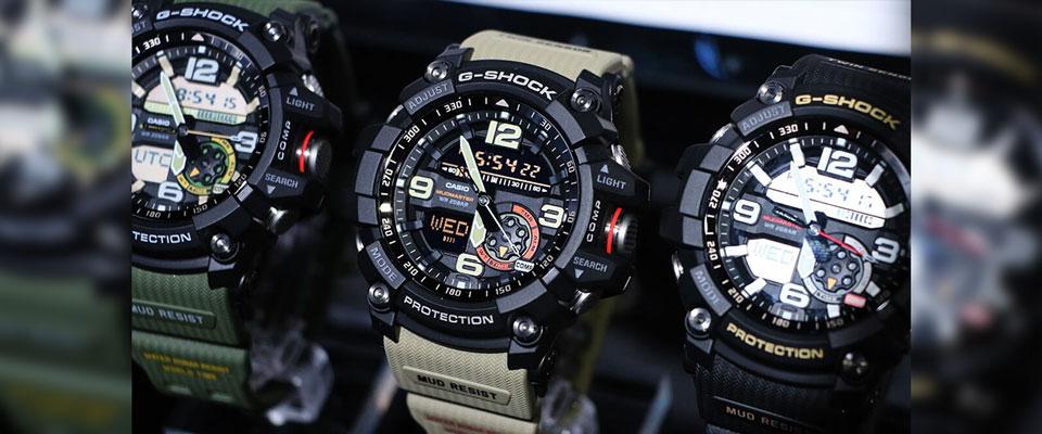 خرید ساعت مچی عقربه ای مردانه کاسیو جی شاک مدل GG-1000-1A5DR