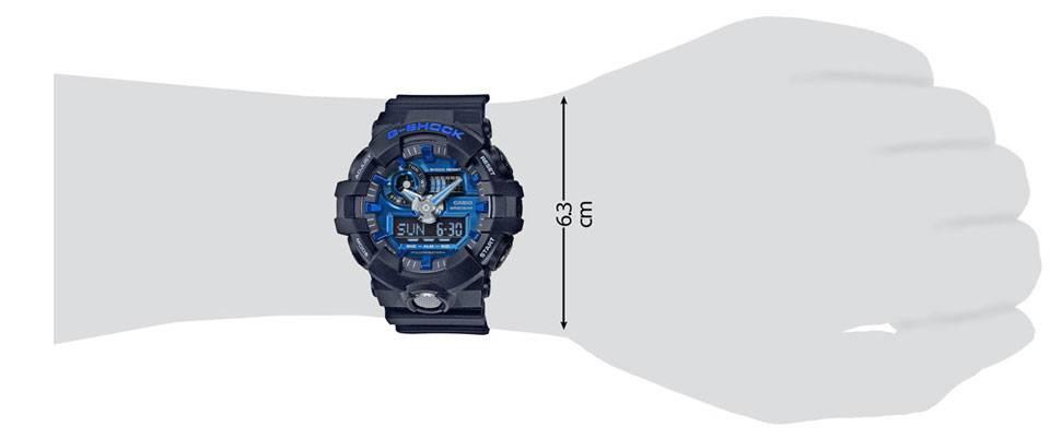 ساعت مچی عقربه ای مردانه کاسیو جی شاک مدل GA-710-1A2DR 5