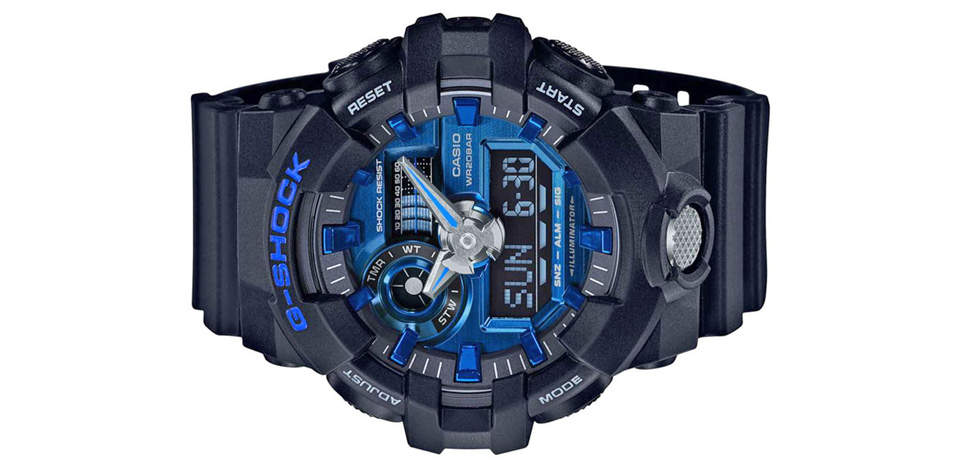 ساعت مچی عقربه ای مردانه کاسیو جی شاک مدل GA-710-1A2DR 4