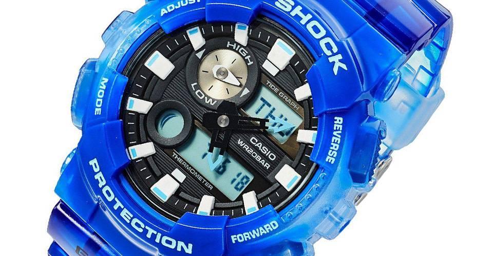 ساعت مچی دیجیتالی مردانه کاسیو جی شاک GAX-100MSA-2ADR 5