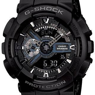 خرید ساعت مچی عقربه ای مردانه کاسیو جی شاک GA-110-1BDR   ساعت مچی