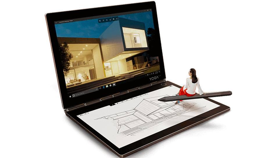 قیمت تبلت لنوو مدل YogaBook C930 YB-J912F ظرفیت 256 گیگابایت