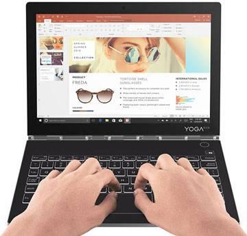 خرید تبلت لنوو مدل YogaBook C930 YB-J912F ظرفیت 256 گیگابایت فروشگاه اینترنتی تسنیم