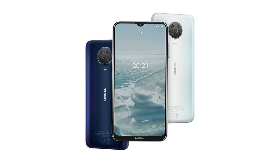 گوشی موبایل نوکیا G20 ظرفیت 128 گیگابایت - رم 4 گیگابایت